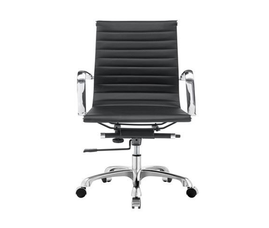 Office Chairs H Black Pu Leather Ms 8801 L
