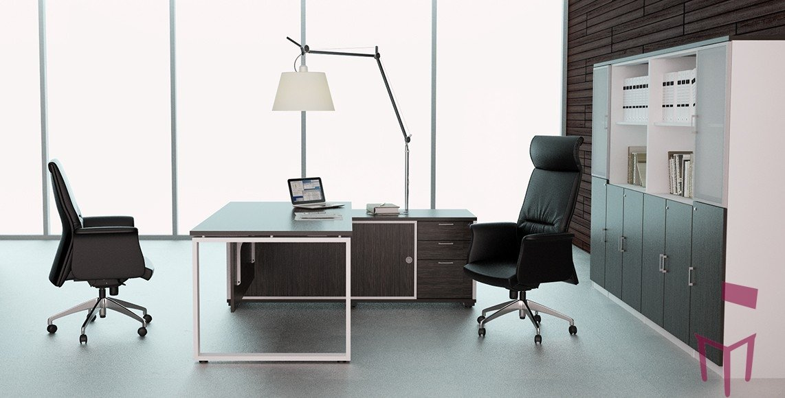 Office Desk and Table